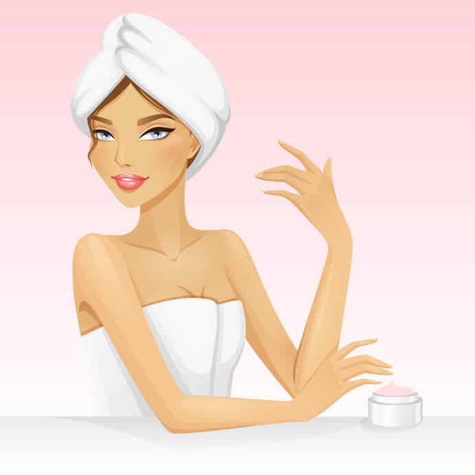 טיפוח העור - טיפול בעור יבש