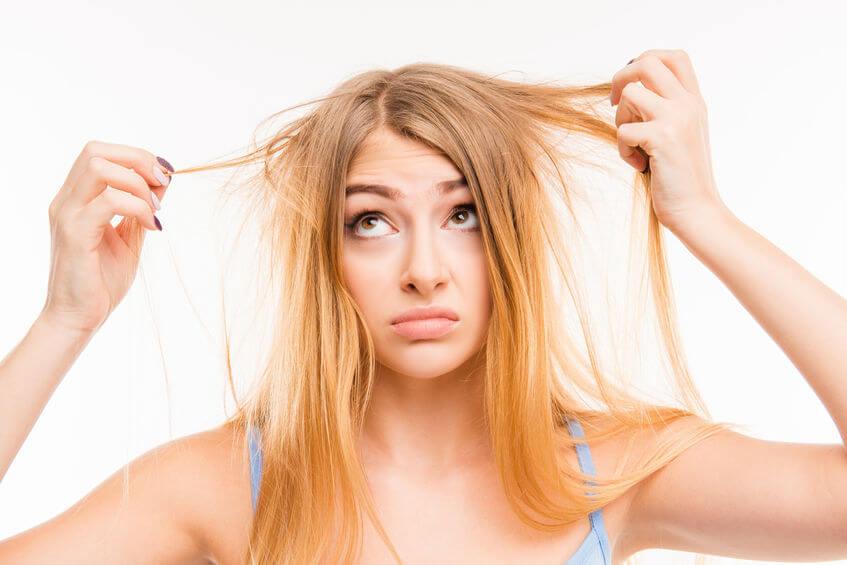 טיפול בשיער שומני