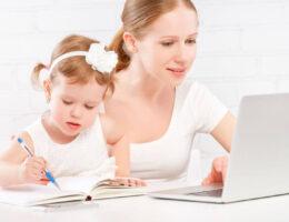 עבודה עם ילדים בבית
