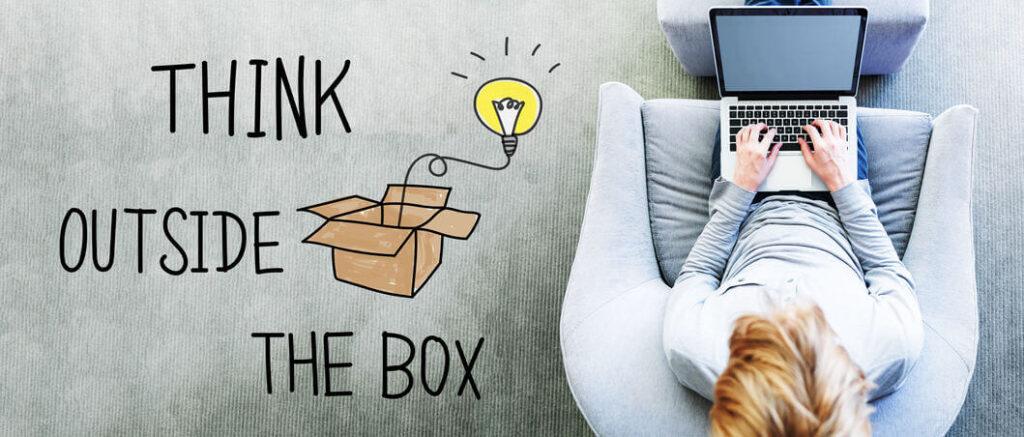 בלוג שיווק בדיגיטל - לחשוב מחוץ לקופסא