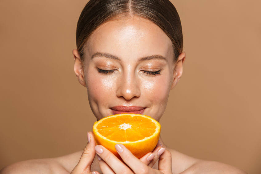 ויטמין C בטיפוח העור