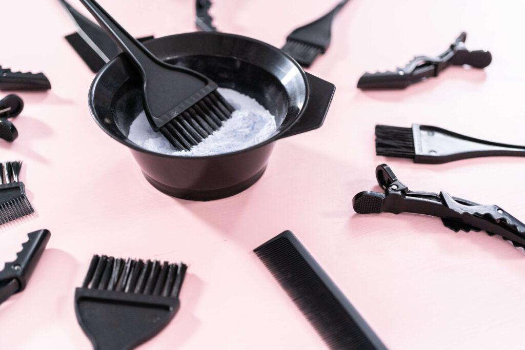 איך לצבוע את השיער בעצמך