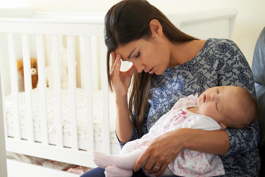 דיכאון ותסכול אחרי הלידה