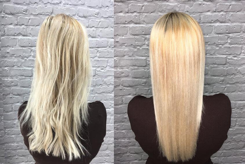 טיפול קרטין משקם לשיער פגום